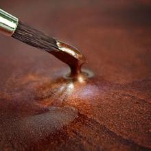 Spiselig maling maling, metallic Kobber