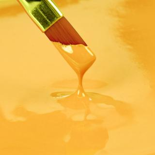 Spiselig maling, gul