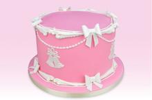 Wedding bow & Bell / bryllupsklokker og sløjfe, udstikkersæt