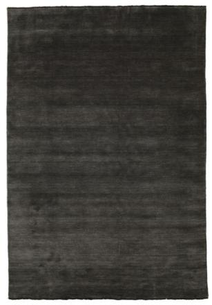 Handloom fringes - Svart / Grå matta 220x320 Modern Matta