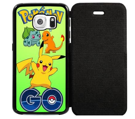 Samsung Galaxy S6 Edge Flipfodral Pokemon Go - CDON.COM
