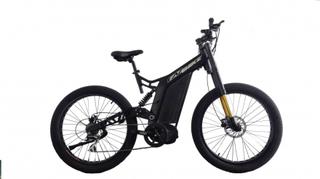 EAZbike® TDE17-1 - 1000w elektrisk sykkel - 140 km