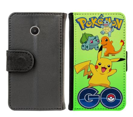 Huawei Acsend Y330 Plånboksfodral Pokemon Go - CDON.COM