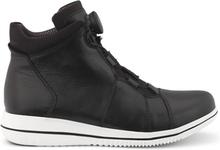 Green Comfort Boots Boa Black