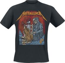 Metallica - S&M2 Cello Reaper -T-skjorte - svart