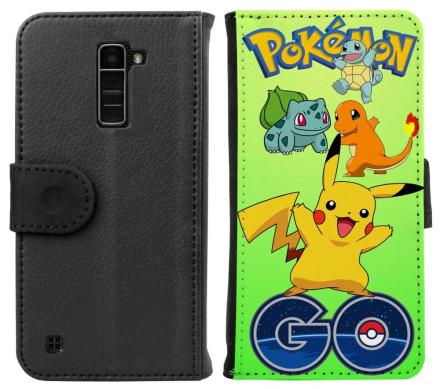 LG K10 Plånboksfodral Pokemon Go - CDON.COM