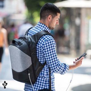 Antityveri rygsæk med USB og tablet og bærbar computer ruminddeling 145947