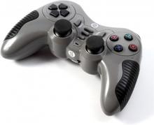 Spelkontroll Joystick Trådlös för PC PS2 PS3 - Grå