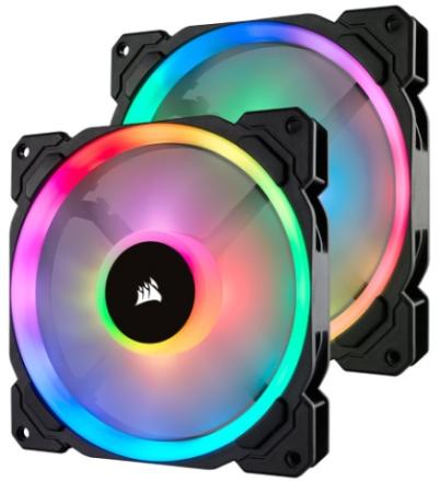 Corsair LL Series LL140 RGB 2-pack
