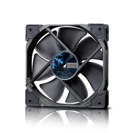 Cooling-Fan Fractal Design Venturi HP-14 PWM 140mm Black