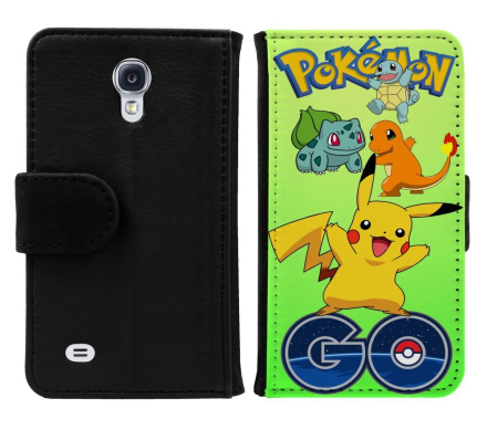 Samsung Galaxy S4 Mini Plånboksfodral Pokemon Go - CDON.COM