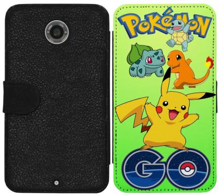 Motorola Nexus 6 Plånboksfodral Pokemon Go - CDON.COM
