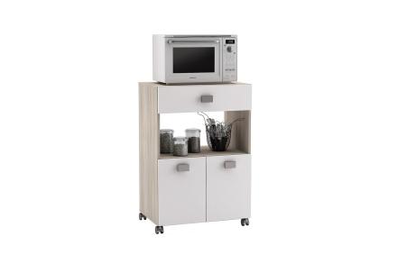 ROSMARIN Kjøkkenoppbevaring 60 Akasie/Hvit -