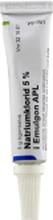 Natriumklorid i Emulgon APL Ögonsalva 5 % 4 x 5 gram
