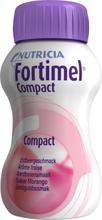 Fortimel Compact drickfärdigt kosttillägg, jordgubb 4 x 125 milliliter