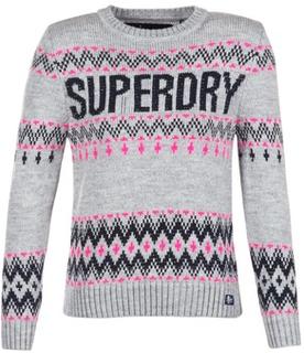 Superdry Tröjor SUPERDRY CHEVRON KNIT Superdry