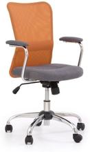 Maximus stol - grå/orange