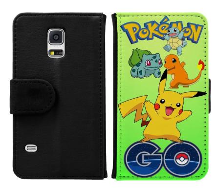 Samsung Galaxy S5 Mini Plånboksfodral Pokemon Go - CDON.COM