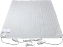 vidaXL Värmefilt tvättbar polyester 3 värmeinställningar 150x140 cm
