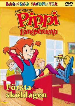 Pippi Långstrump: Första skoldagen (Tecknad) (Import - Suom.Teksti)