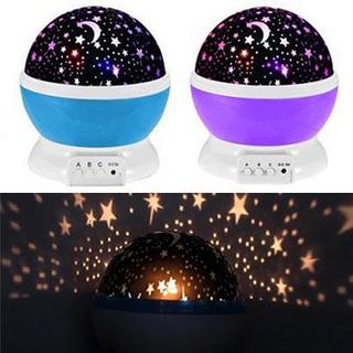 Flot natlampe med stjernehimmel