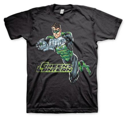 Green Lantern Distressed T-Shirt, Basic Tee