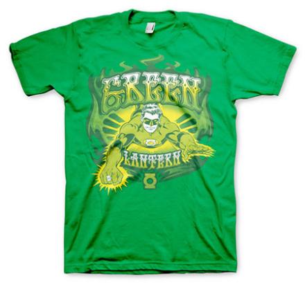 Green Lantern / Green Fire T-shirt, Basic Tee