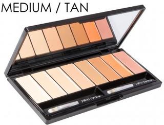 Concealer Palette (Variant: MEDIUM / TAN)