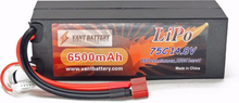 RC-Bil VANT (Li-po) batteri 6500mAh 75C 4S