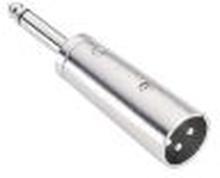 Adapter 6.3mm Hane Mono - XLR Hane
