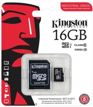 16GB class 10 Kingston Extreme (MicroSDHC med SDHC adapter)