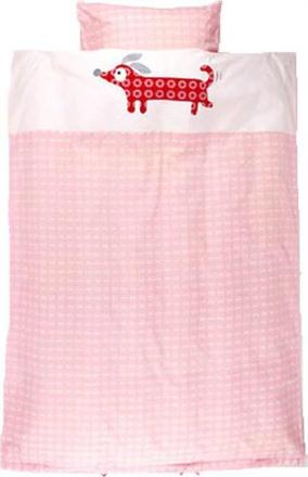 Økologisk Baby sengetøj - Franck fischer - 70x100 cm 100% økologisk bomuld - Home-tex