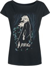 Frozen - Anna - In The Woods -T-skjorte - svart