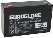 6V 12Ah (AGM) batteri 151 x 51 x 94 Euroglobe