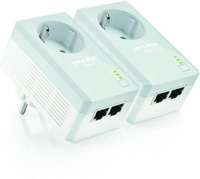 TP-Link Powerline 500Mbps, AV500+, 2xRJ45, AC Pass