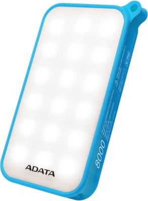 ADATA D8000L Powerbank, 8000 mAh, IP54, LED panel,