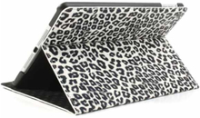 Leopard cover til iPad Mini 2 and 3. Hvid.