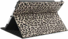 Leopard cover til iPad Mini 2 and 3. Grå.