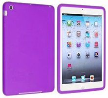Silicone cover til iPad Mini. Lilla.