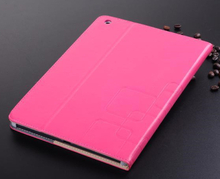 "Printing Grain - ""graveret"" cover til iPad Mini 2 and 3. Pink."