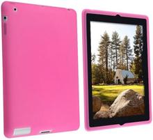 Silicone cover til iPad 2/iPad 3/iPad 4. Pink.