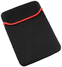iPad Mini beskyttelses sleeve. Sort med rød indmad.