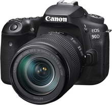 Canon EOS 90D Kit with EF-S 18-135mm f/3.5-5.6 IS USM Objektiv Digital SLR Kamera (International Ver.)