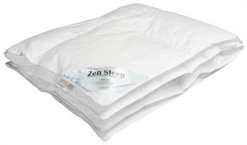 Junior Dunfiber allergivenlig dyne - 100x140cm - Helårsdyne - Zen Sleep
