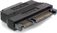 DeLOCK adapter SATA+strøm (7+15-pin) til Slimline SATA+strøm (7+6-pi