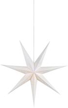 Markslöjd Solvalla stjerne slim, 75 cm, E14, hvit