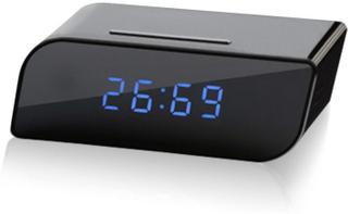 HD Spionkamera, Väckarklocka, Wifi, 1080p