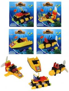 Bygg din leksak med små klossar