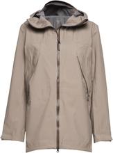 W'S Leeward Jacket Outerwear Sport Jackets Beige Houdini