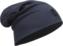 Buff Heavyweight Merino Wool Hat Loose Unisex luer Blå OneSize